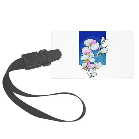 flowers.png Large Luggage Tag