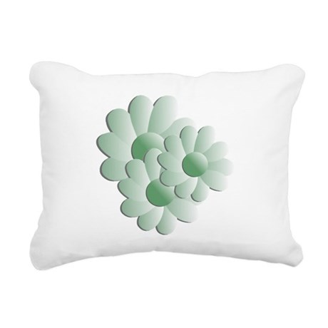 daisy5b.png Rectangular Canvas Pillow