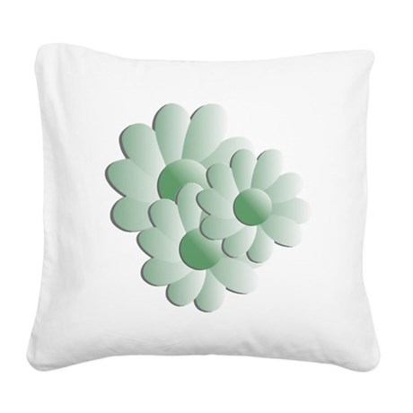 daisy5b.png Square Canvas Pillow
