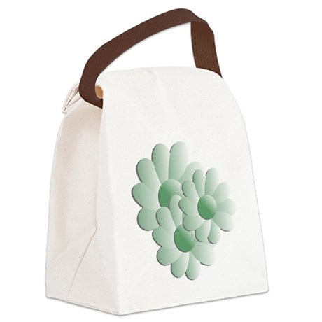 daisy5b.png Canvas Lunch Bag