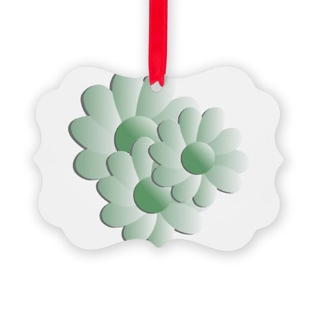 daisy5b.png Picture Ornament