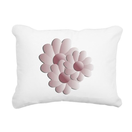 daisy5d2.png Rectangular Canvas Pillow