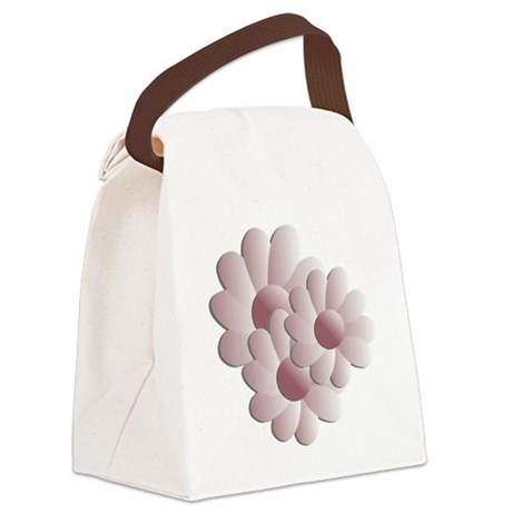 daisy5d2.png Canvas Lunch Bag