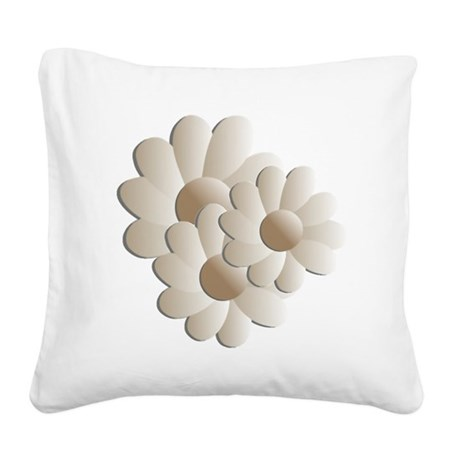 daisy5a.png Square Canvas Pillow