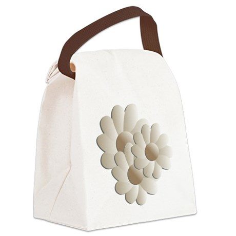 daisy5a.png Canvas Lunch Bag