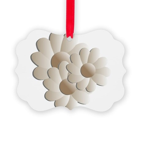 daisy5a.png Picture Ornament