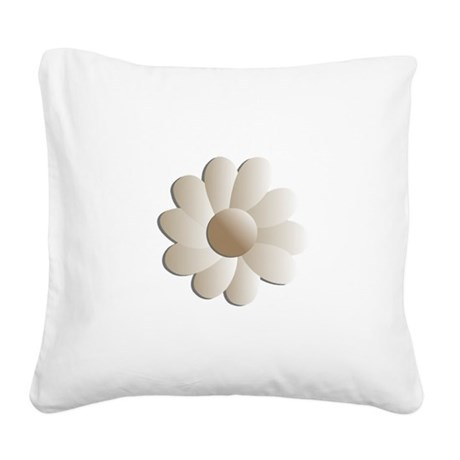 daisy5.png Square Canvas Pillow
