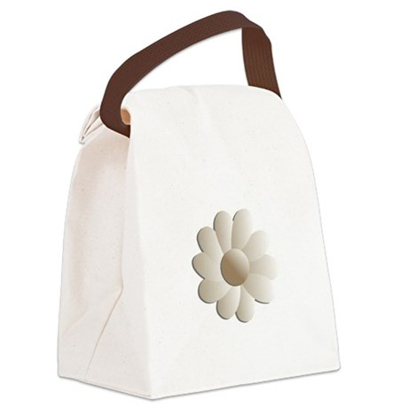 daisy5.png Canvas Lunch Bag