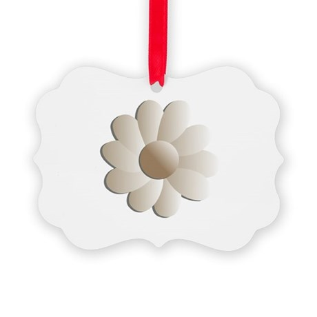 daisy5.png Picture Ornament