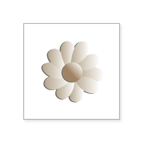 "daisy5.png Square Sticker 3"" x 3"""