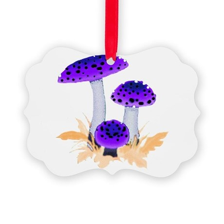 mushrooms2g.png Picture Ornament