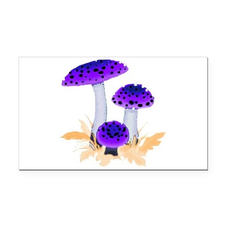 mushrooms2g.png Rectangle Car Magnet