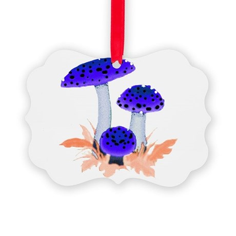mushrooms2i.png Picture Ornament