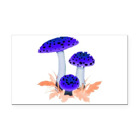 mushrooms2i.png Rectangle Car Magnet