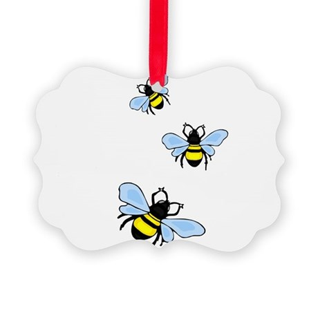 bee1.png Picture Ornament