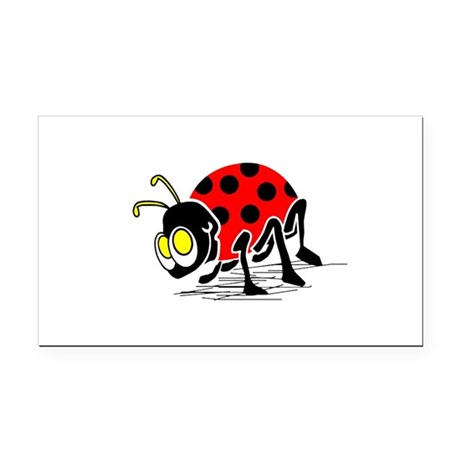 ladybug5.png Rectangle Car Magnet