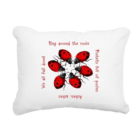ladybug3.png Rectangular Canvas Pillow