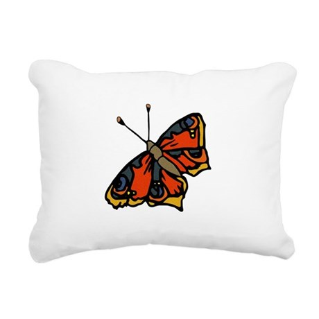 butterflyrustic2.png Rectangular Canvas Pillow