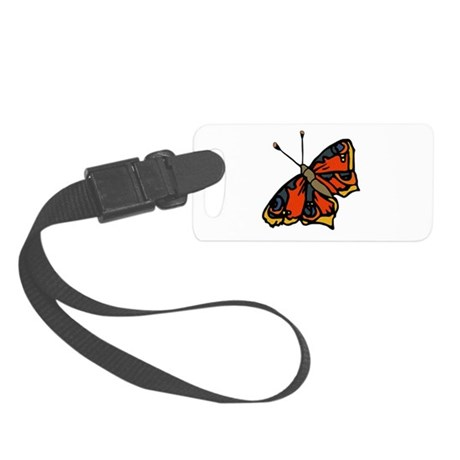 butterflyrustic2.png Small Luggage Tag