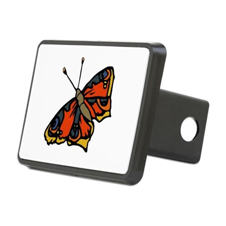 butterflyrustic2.png Rectangular Hitch Cover
