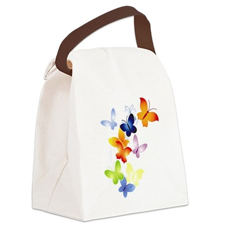 butter1.png Canvas Lunch Bag