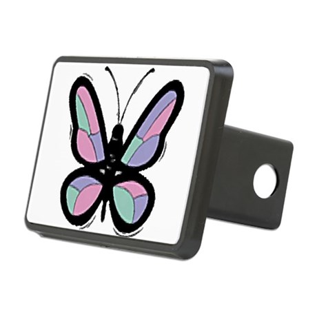 Big Butterfly Rectangular Hitch Cover