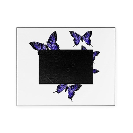 Purple Butterflies Picture Frame