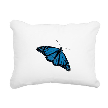 Butterfly Rectangular Canvas Pillow