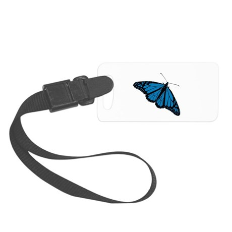 Butterfly Small Luggage Tag