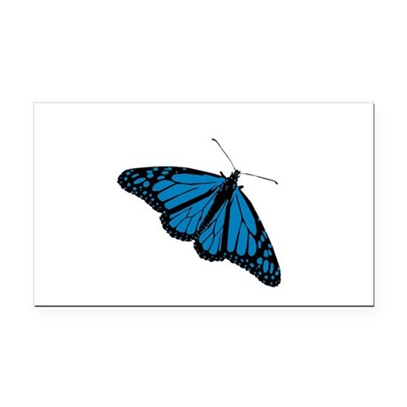 Butterfly Rectangle Car Magnet