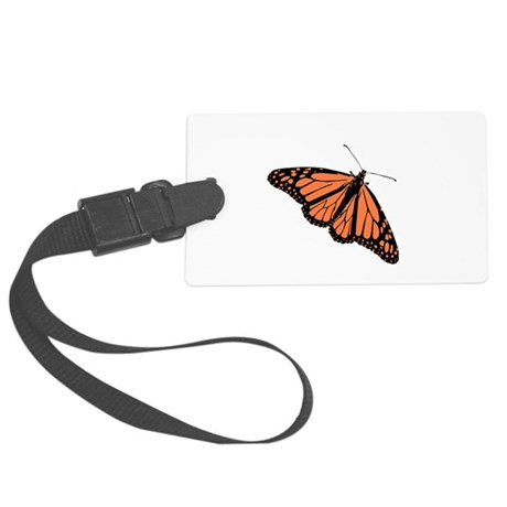 Monarch Butterfly Large Luggage Tag