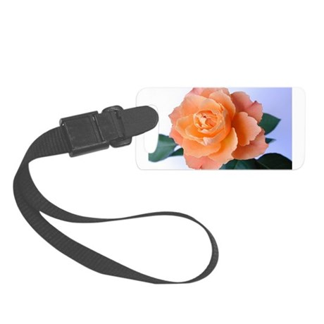 orange rose Small Luggage Tag