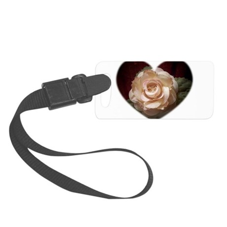 Peace Rose Small Luggage Tag