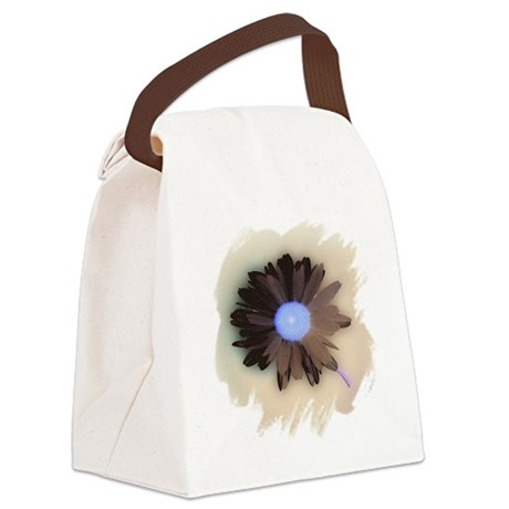 Country Daisy Canvas Lunch Bag