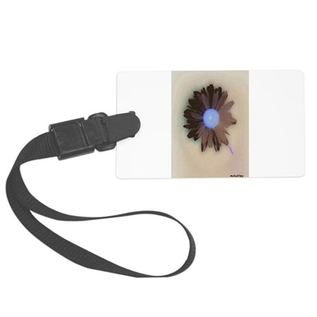 Country Daisy Large Luggage Tag