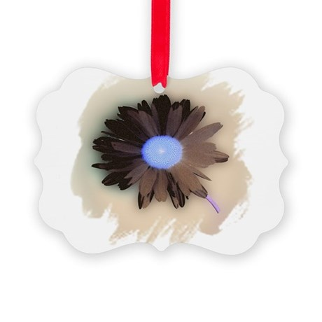 Country Daisy Picture Ornament