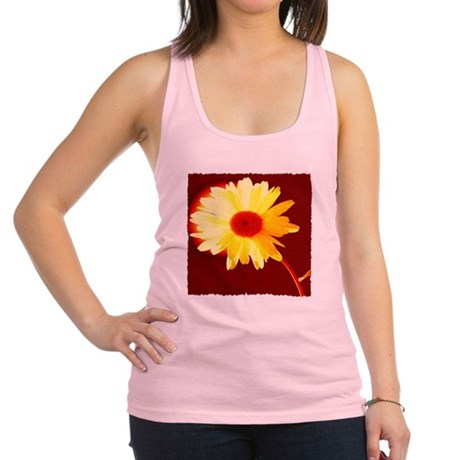 Hot Daisy Racerback Tank Top