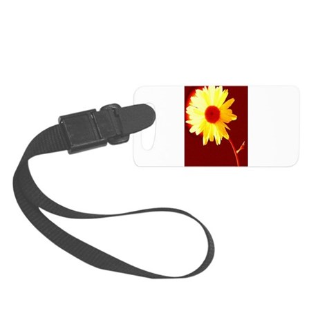 Hot Daisy Small Luggage Tag