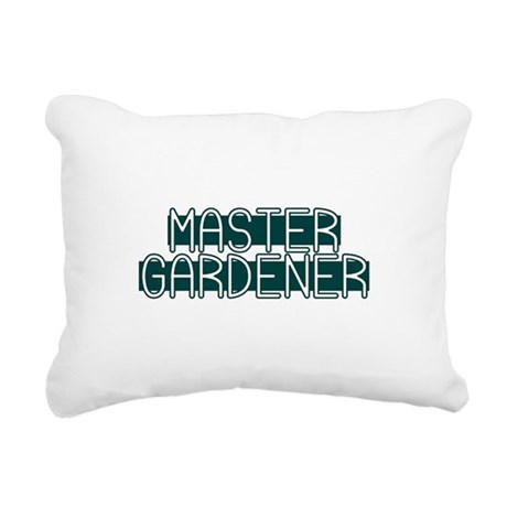 Master Gardener Rectangular Canvas Pillow