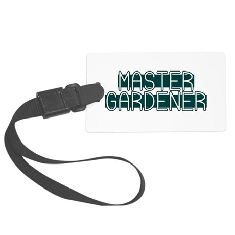 Master Gardener Large Luggage Tag