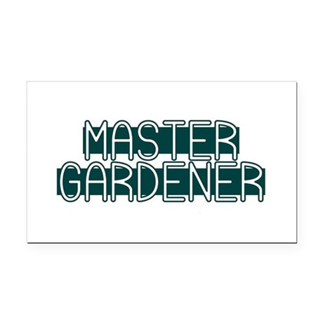 Master Gardener Rectangle Car Magnet