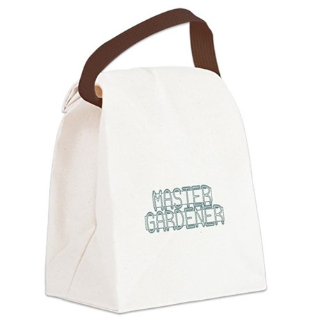 Master Gardener Canvas Lunch Bag