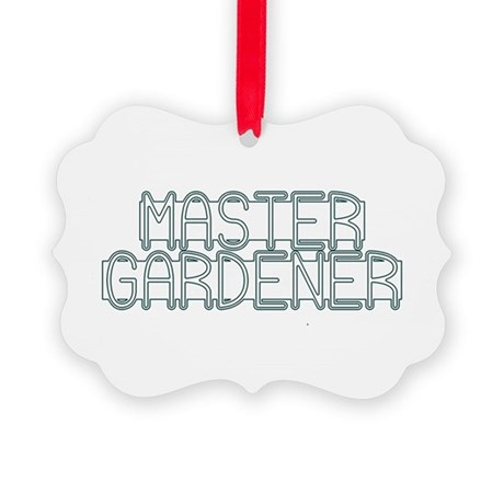 Master Gardener Picture Ornament