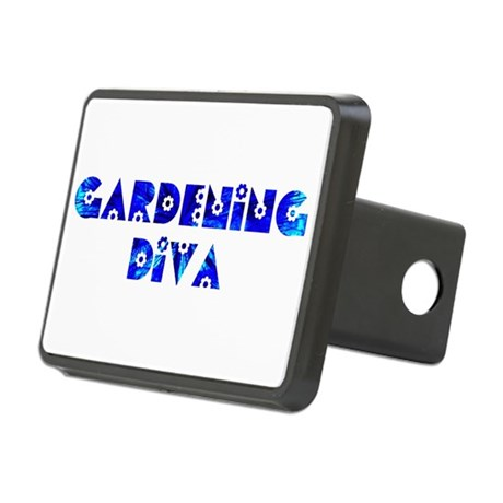 Gardening Diva Rectangular Hitch Cover