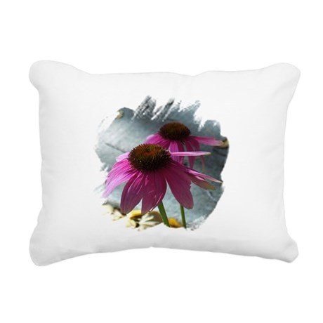 Windflowers Rectangular Canvas Pillow