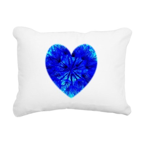 Heart of Seeds Rectangular Canvas Pillow