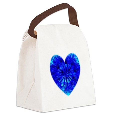 Heart of Seeds Canvas Lunch Bag