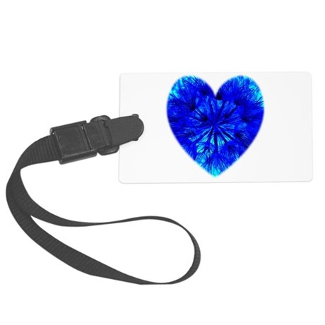 Heart of Seeds Large Luggage Tag