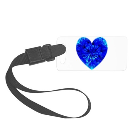 Heart of Seeds Small Luggage Tag