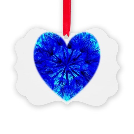 Heart of Seeds Picture Ornament